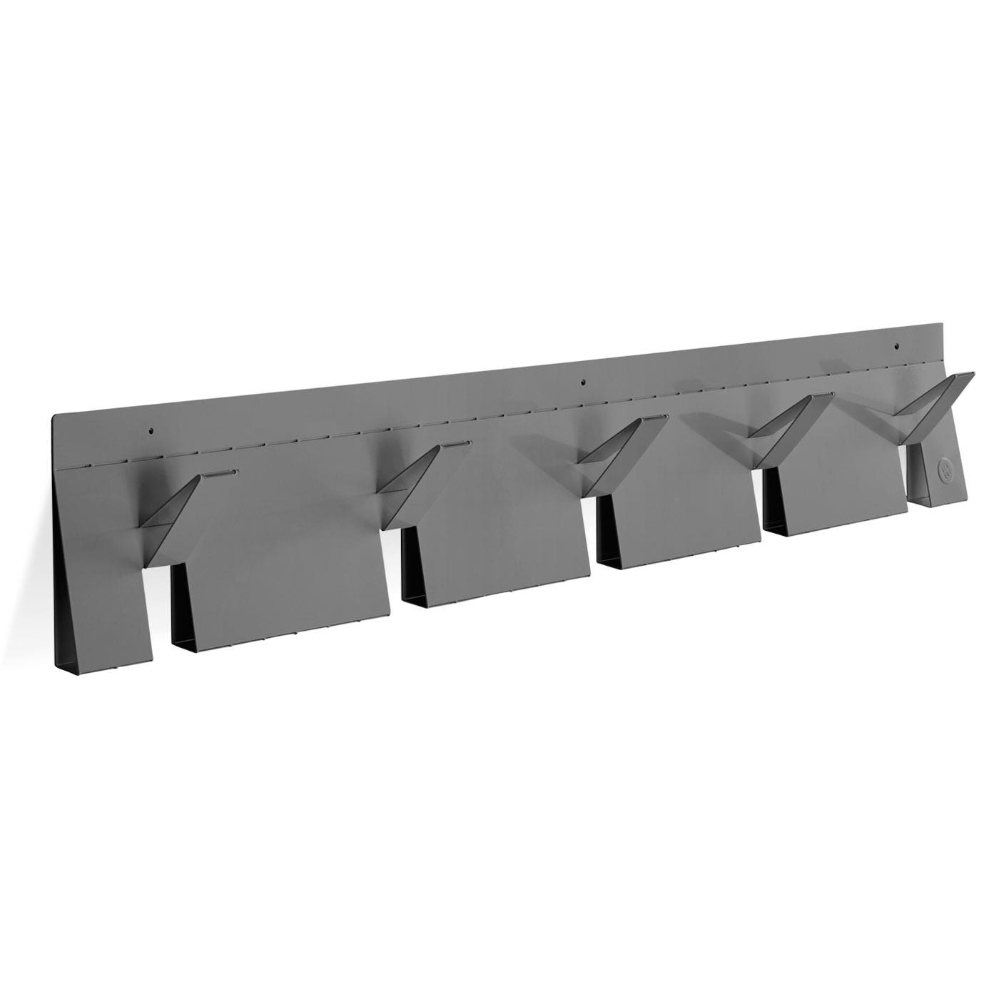 Previous image 2D:3D Grey Modern Wall Coat Rack ...