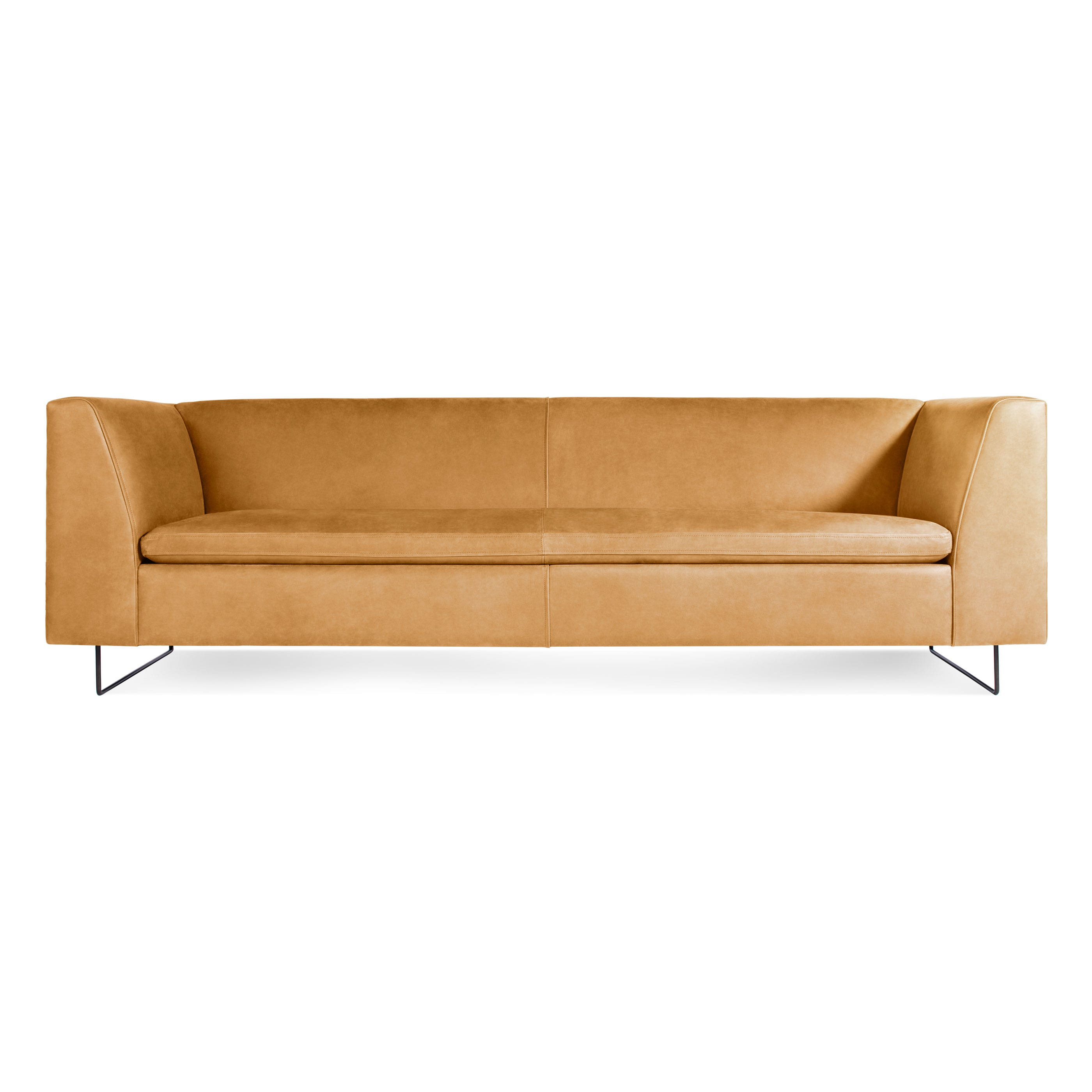 Well-liked Bonnie Leather Sofa - Aniline Leather Sofa | Blu Dot AZ37