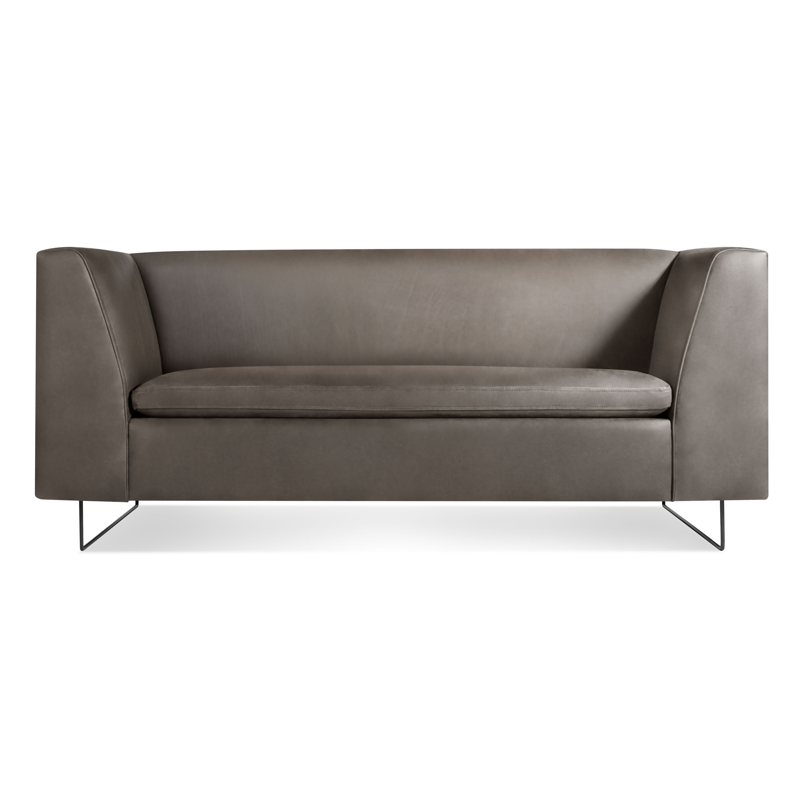 Bonnie Leather Studio Sofa Modern Sofas