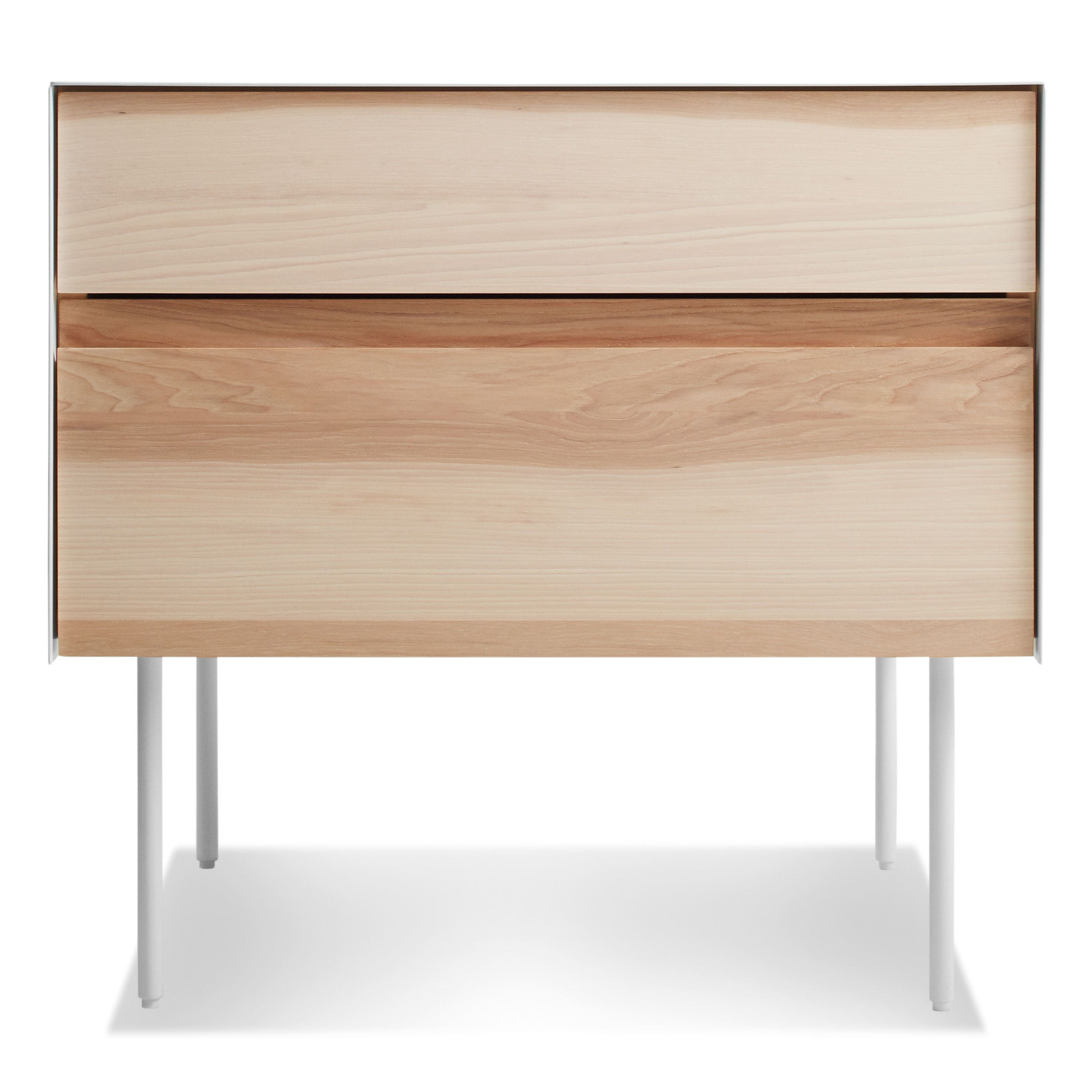 clad nightstand. clad nightstand  modern bedside table  side table  blu dot