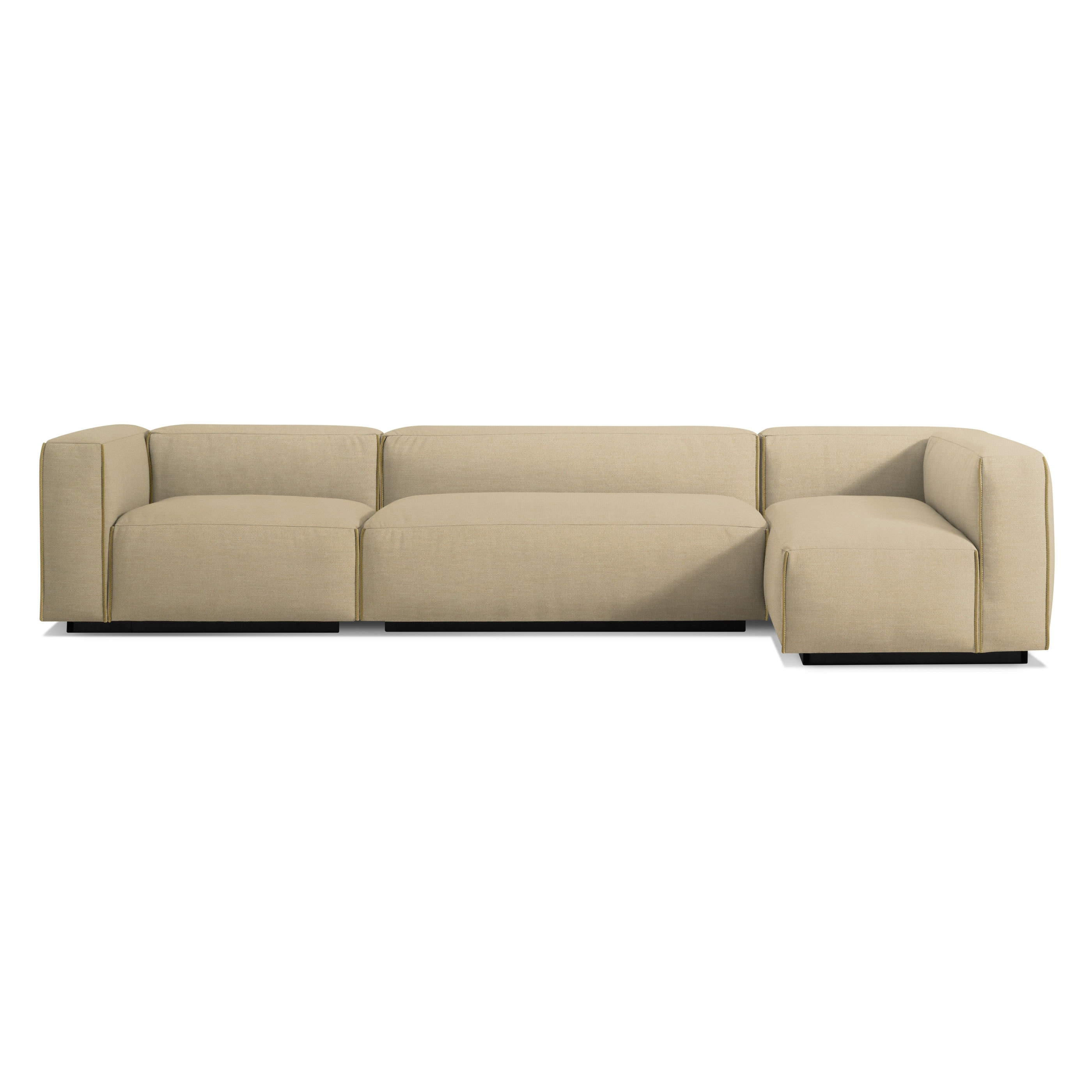 Previous Image Cleon Medium+ Sectional Sofa   Tait Ochre ...