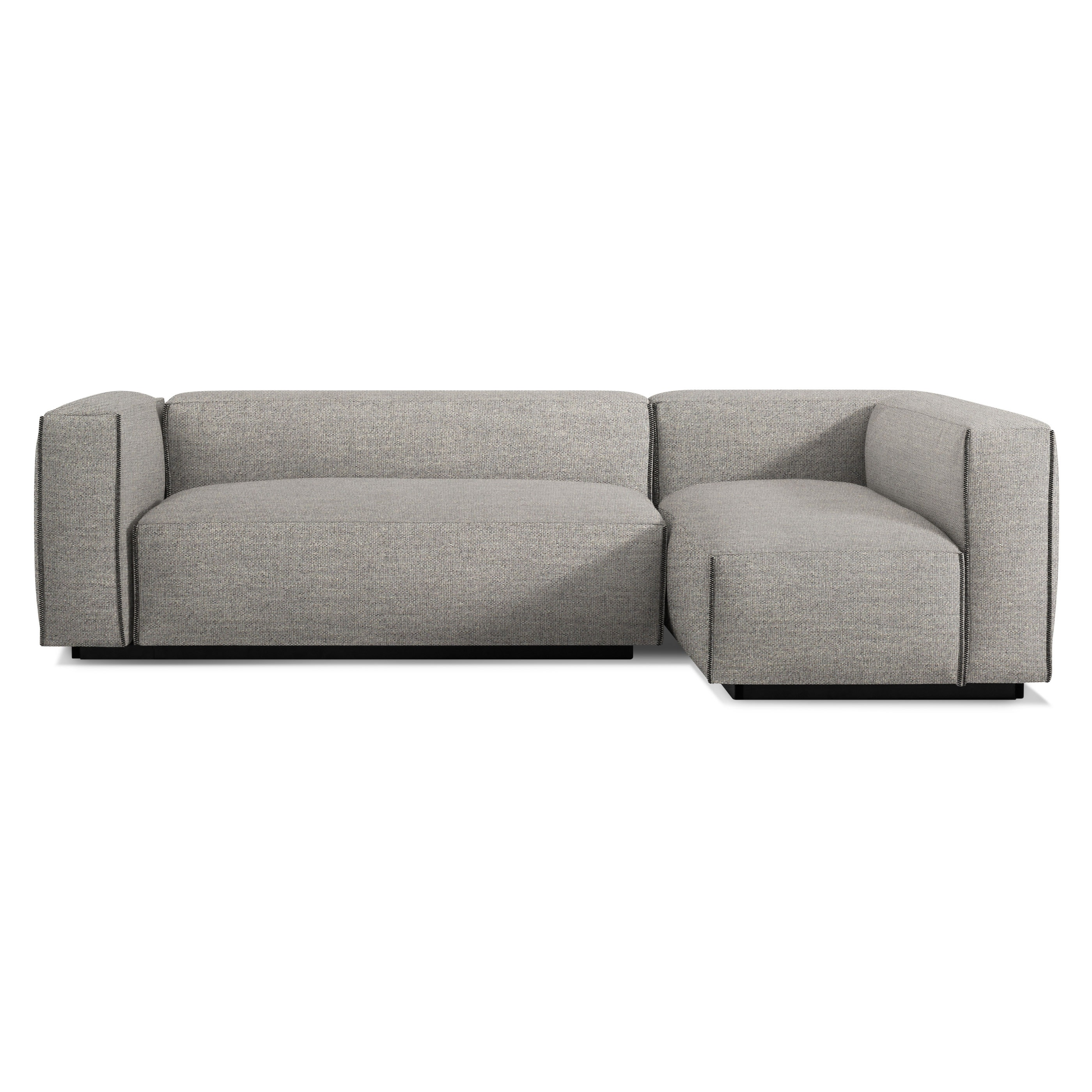 Lovely Previous Image Cleon Small Sectional Sofa   Tait Charcoal ...