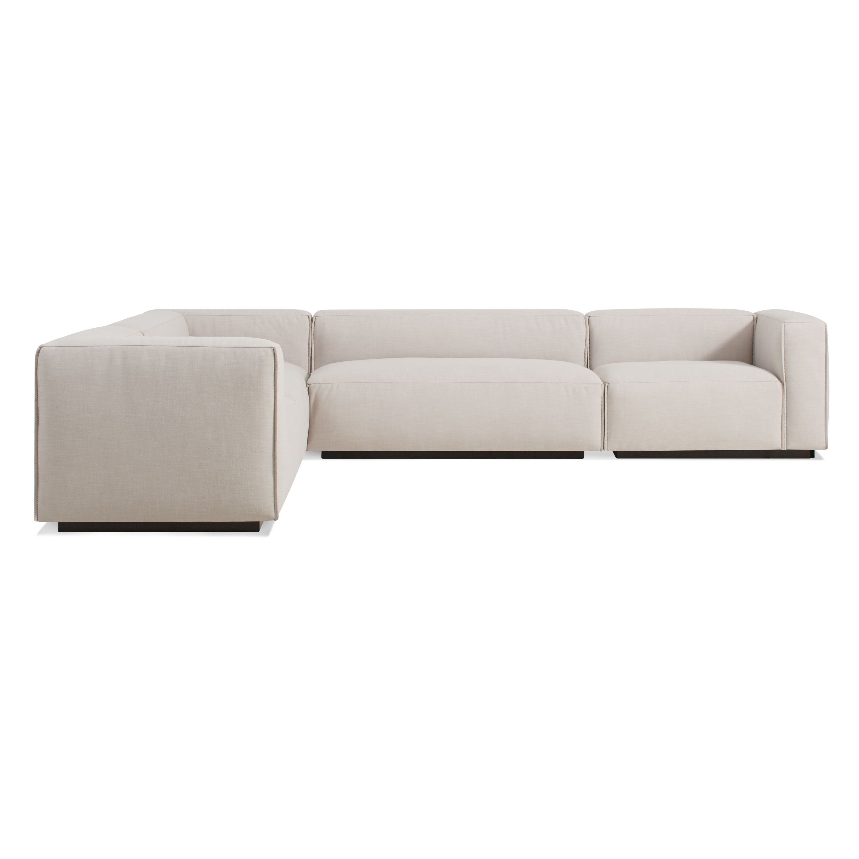 dp set with studio right facing bonded leather brown baxton modern sectional amazon orland sofa chaise com kitchen dining