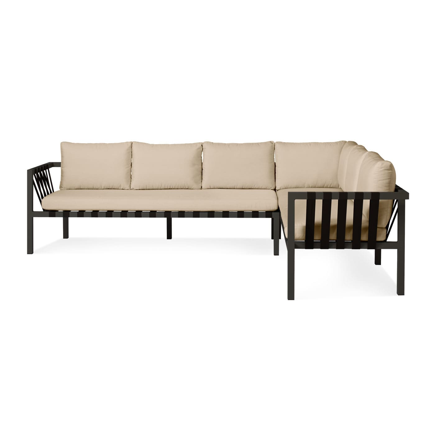 Jibe Outdoor Right Sectional Sofa Modern Outdoor Seating Blu Dot
