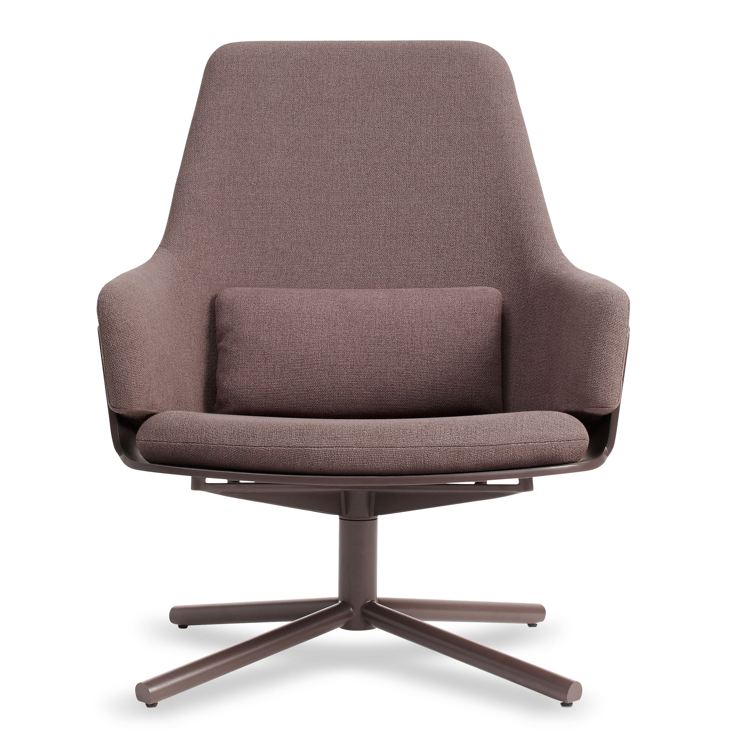 Lock Modern Lounge Chair Swivel Lounge Chair