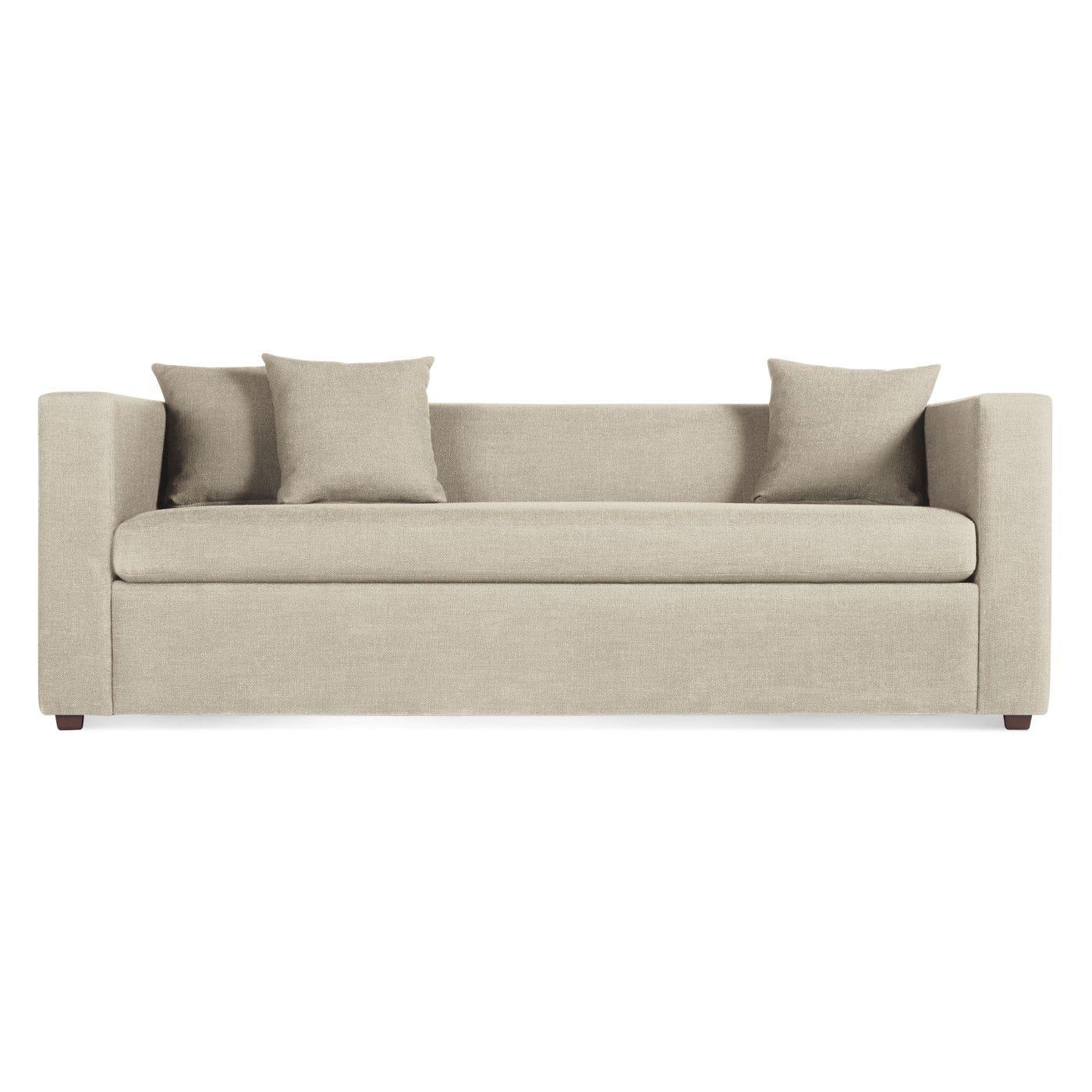 Mono Modern Sleeper Sofa Single Cushion Sofa