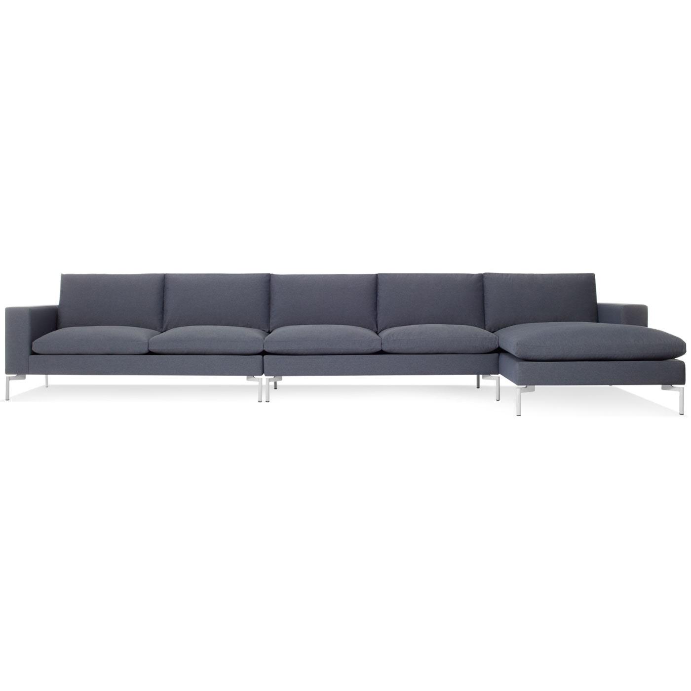 New Standard Medium Sectional Sofa Modern Sectional Sofas