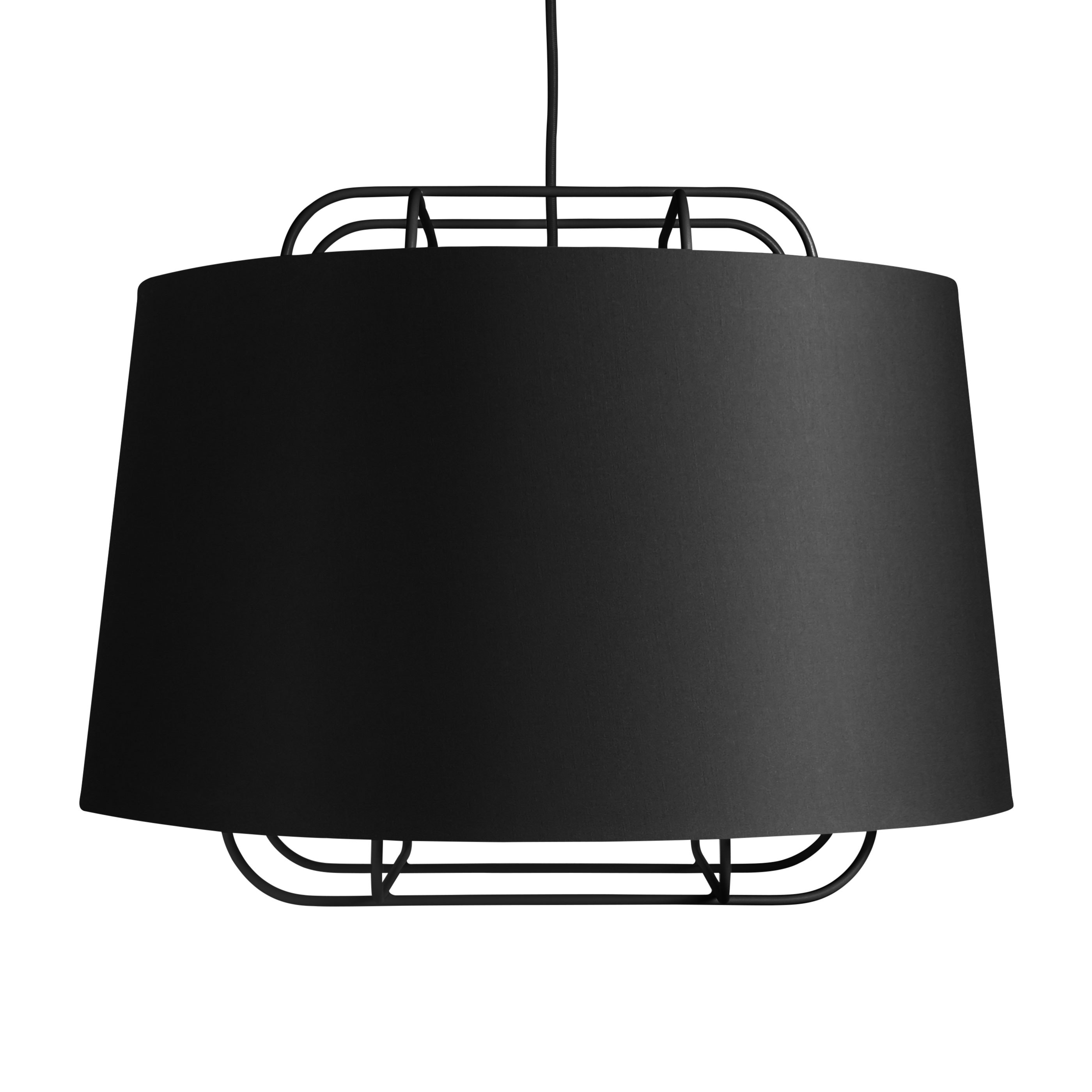 louis black lovinhome poulsen pendant above lamp