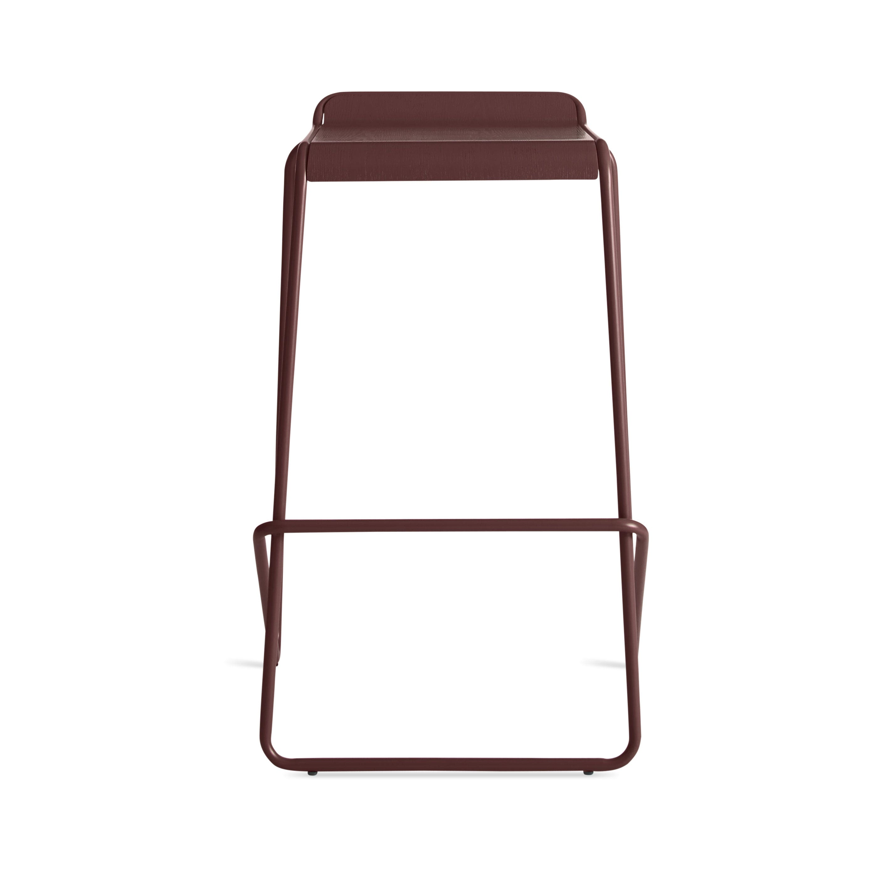 previous image ready stacking barstool  oxblood . ready stacking bar stool  stackable bar stools  blu dot