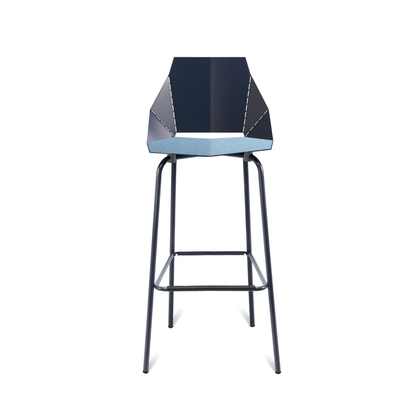 Previous Image Real Good Felt Stool Pad   Heathered Light Blue ...