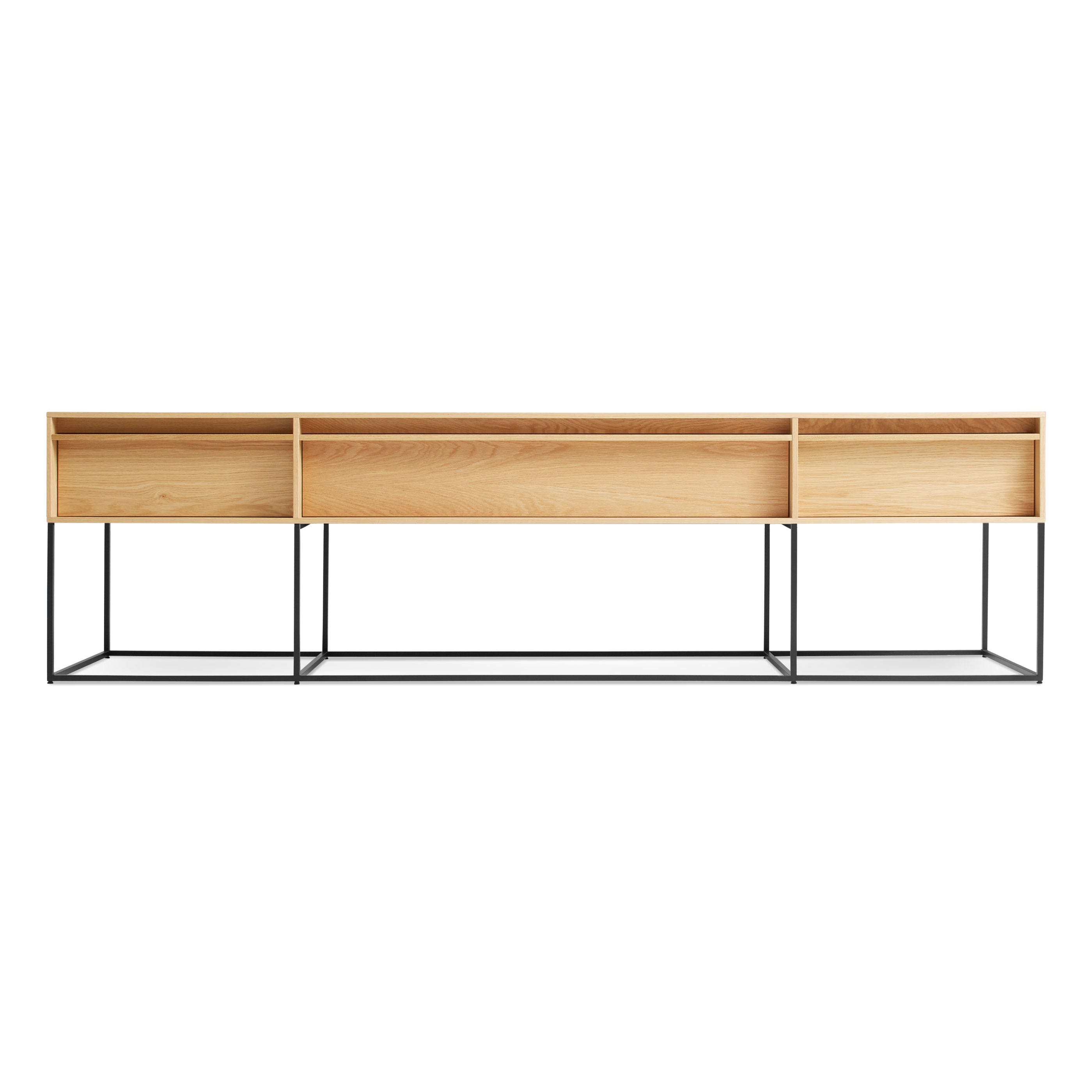 Rule Long Low Long Low Console Table Blu Dot