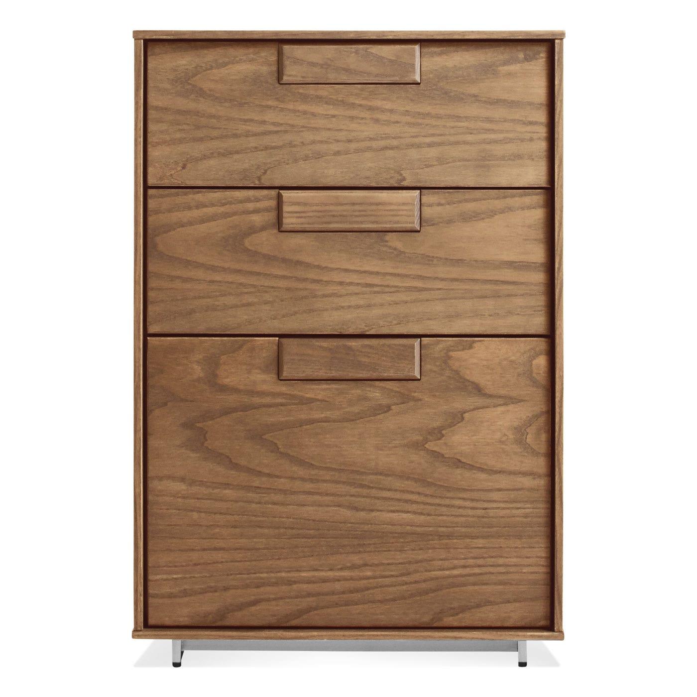 Series 11 Modern Wood Filing Cabinet | Blu Dot