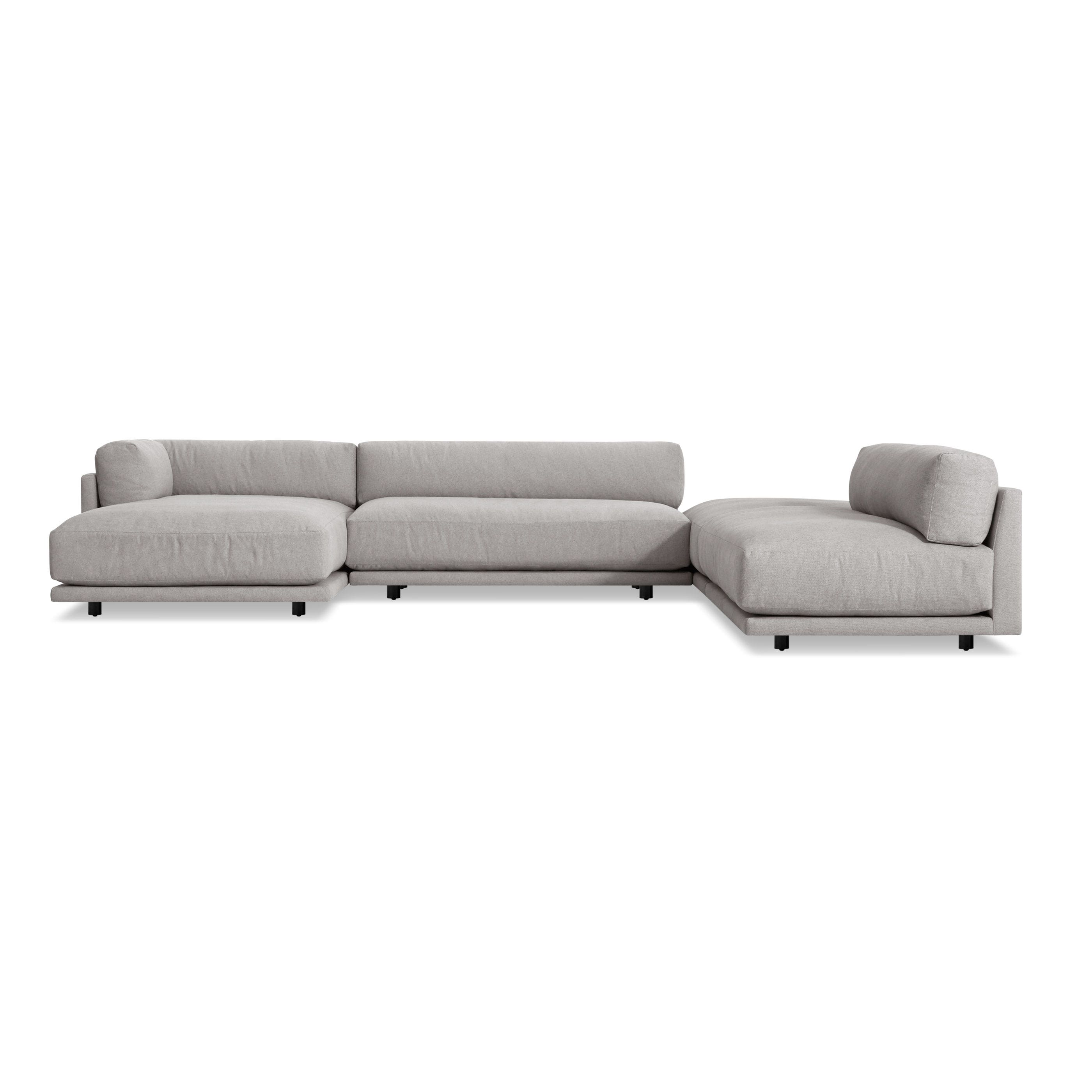 Sunday J Sectional Sofa w Left Chaise