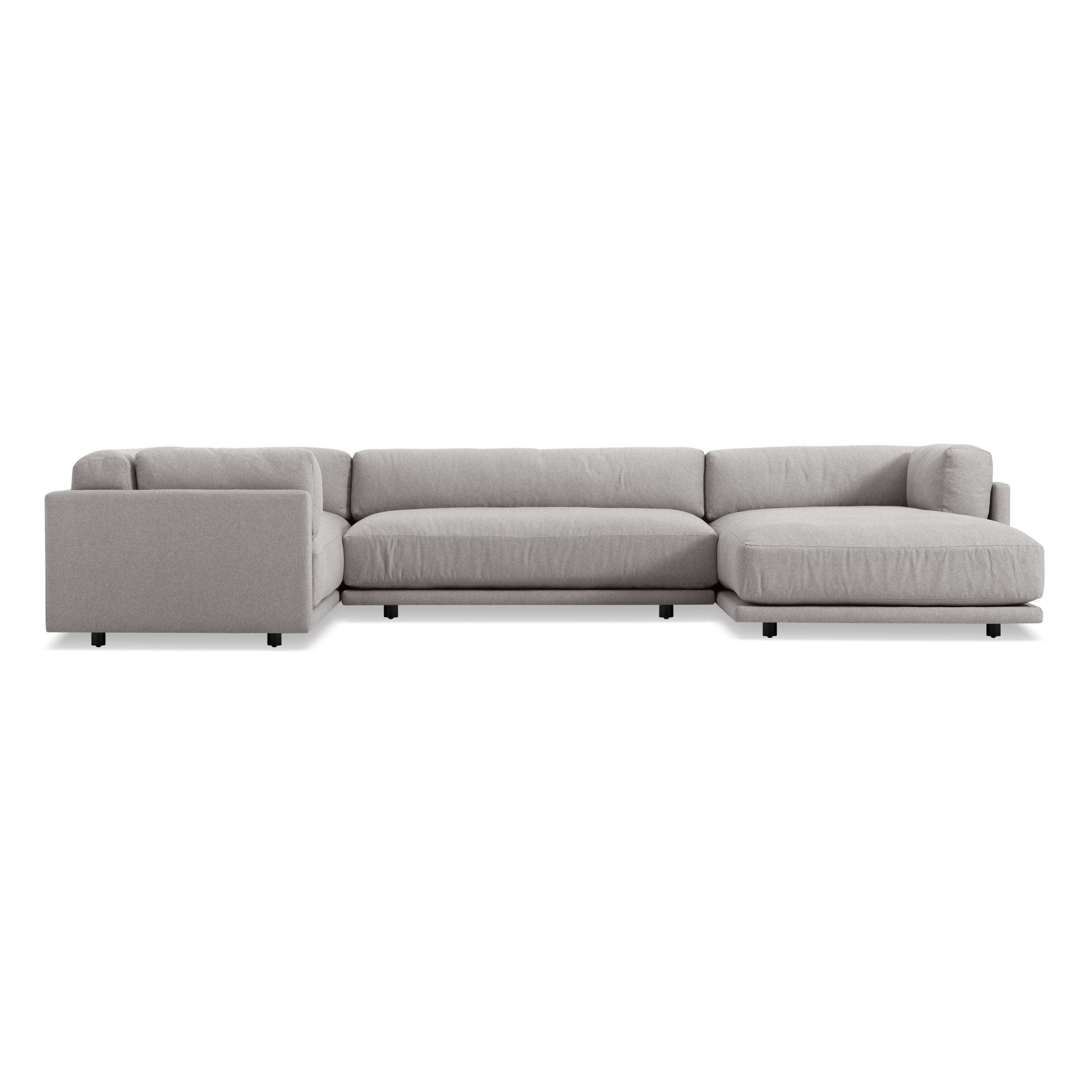 Sunday L Sectional Sofa w Right Arm Chaise