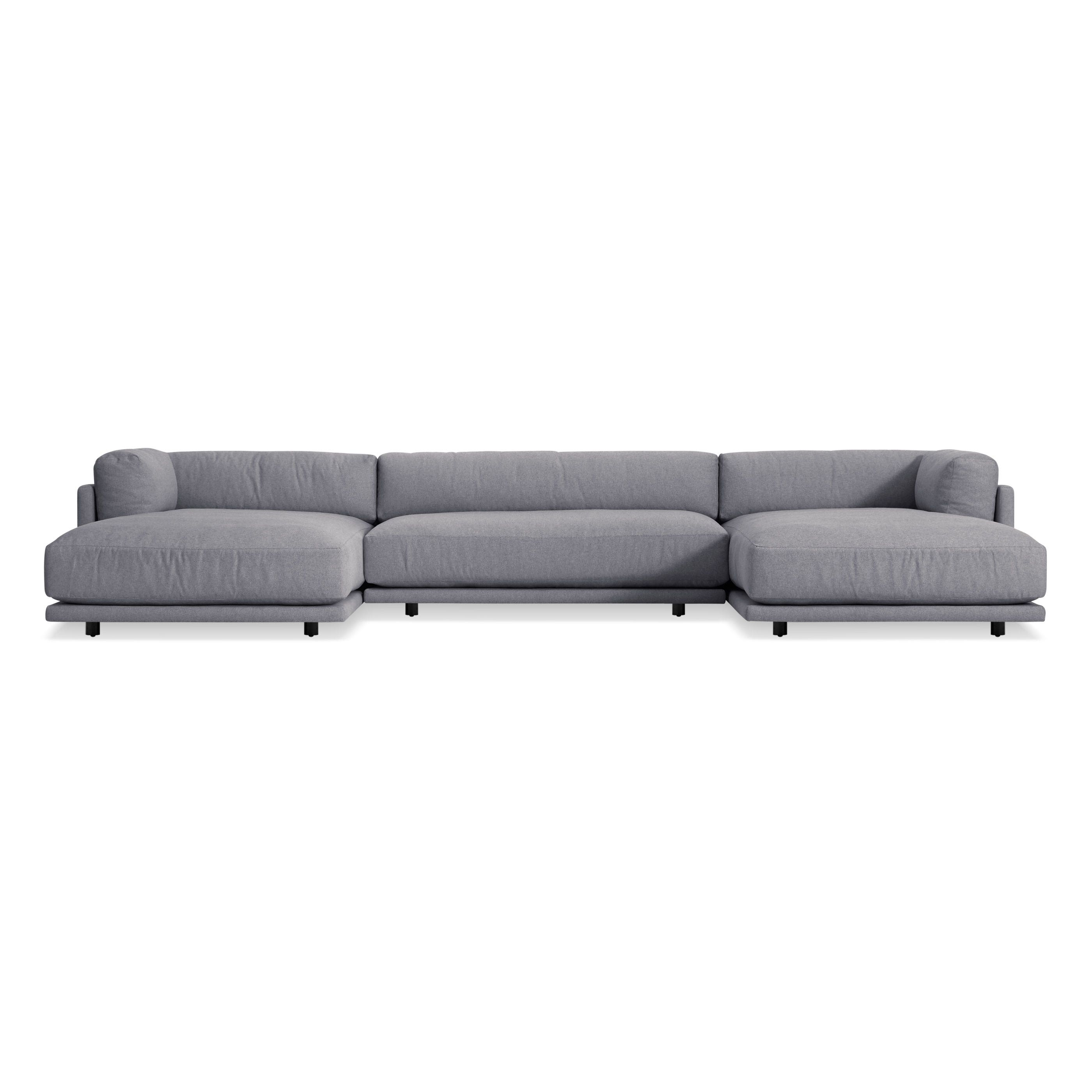 Sunday U-Shaped Sectional Sofa  sc 1 st  Blu Dot : u shaped sectional couch - Sectionals, Sofas & Couches