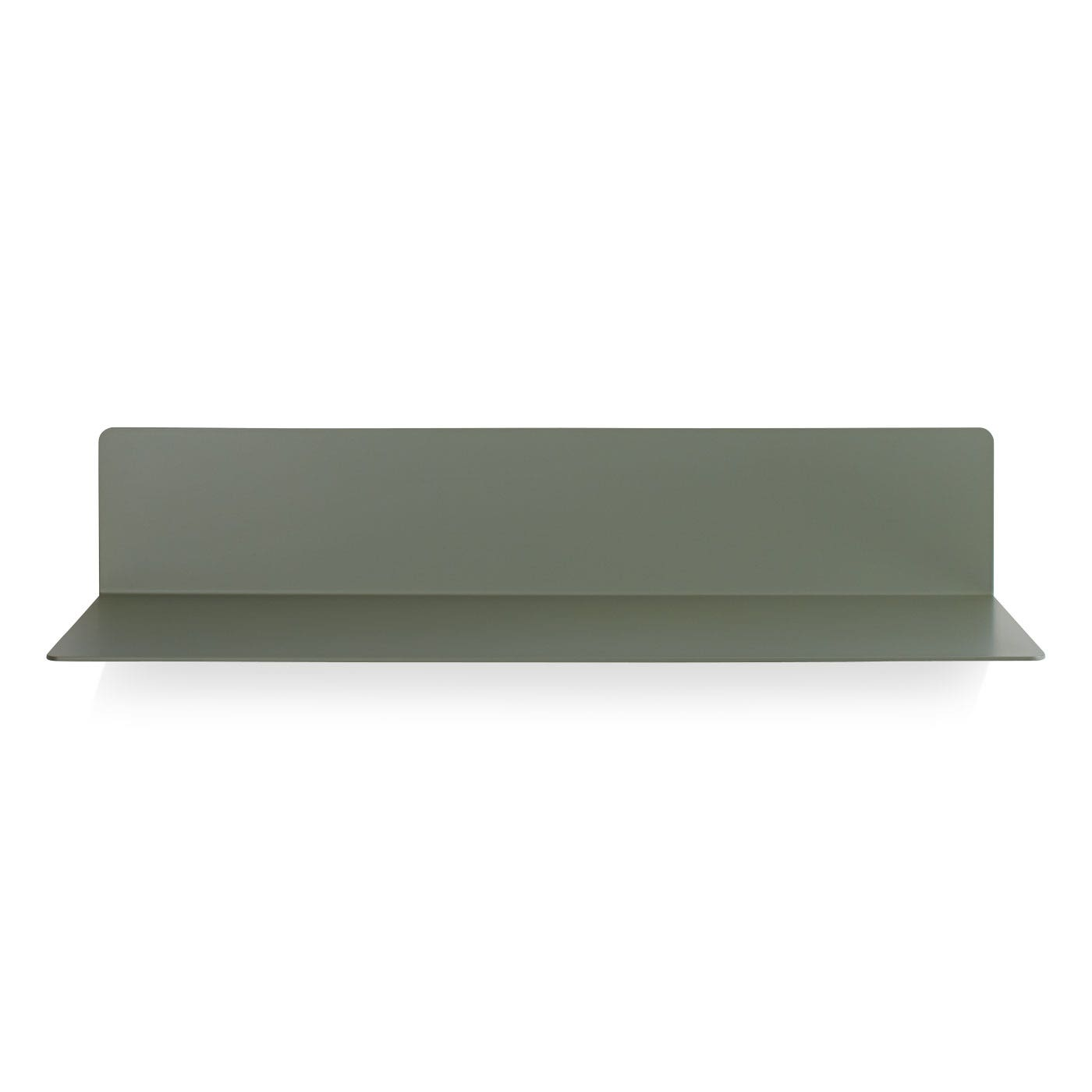 Previous image Welf Modern Floating Wall Shelf - Grey Green ...